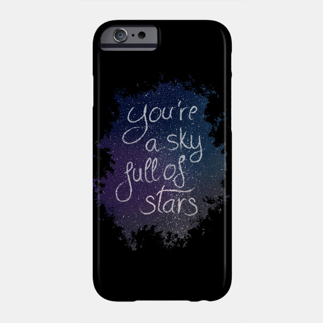 Coldplay a sky full of stars iphone case