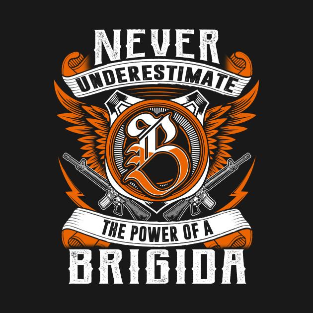 Never Underestimate The Power of BRIGIDA Hoodie Black