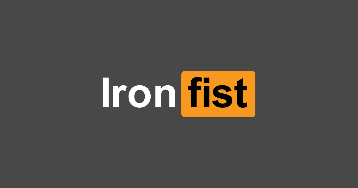 Ironfist r t shirt