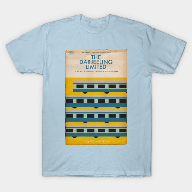 Penguin Book Cover T Shirts : Darjeeling limited book cover tee penguin t shirt