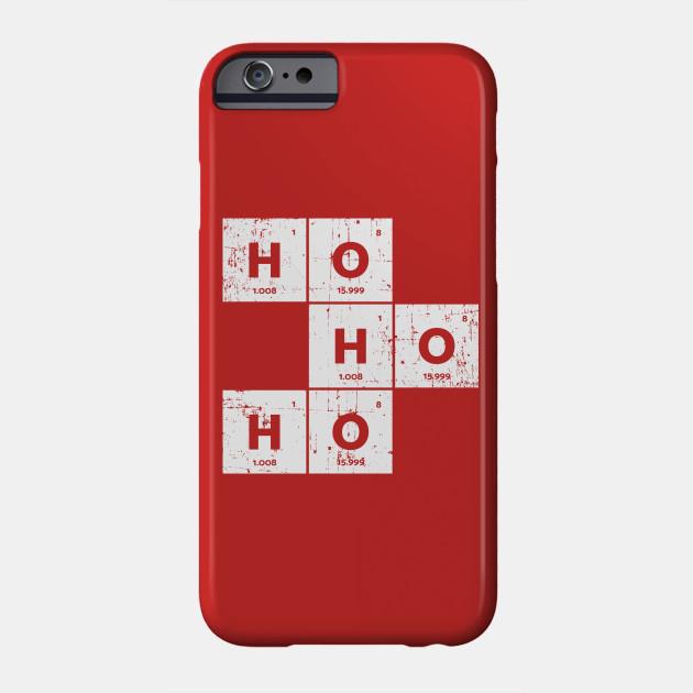 Ho Ho Ho Santa Periodic Table