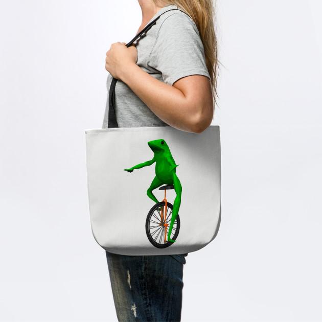 Dat Boi: frog on unicycle