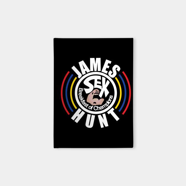 James Hunt Breakfast of Champions
