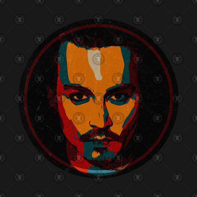 a60d3f0b Johnny Depp - Johnny Depp - T-Shirt | TeePublic