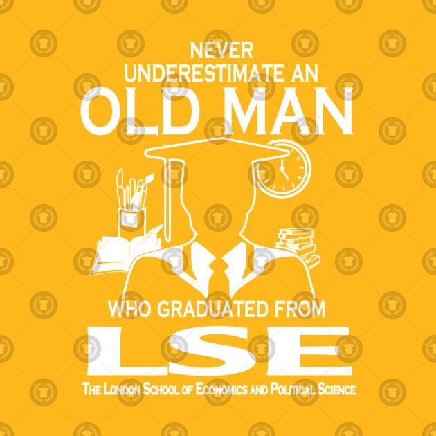 Old Man Graduated LSE The London School Economics