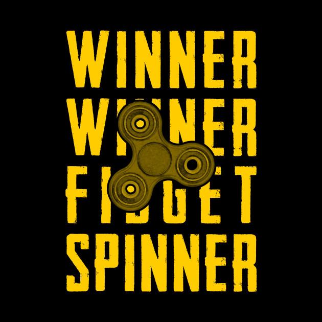 winner winner fidget spinner
