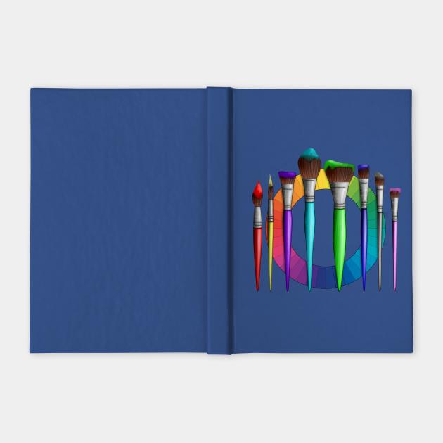 Fun Artist Painter Art Brushes Color Wheel