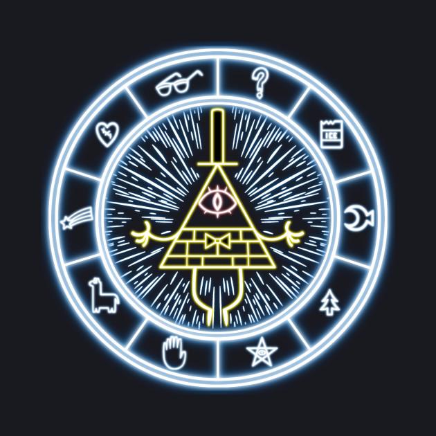 Gravity Falls Bill Cipher Wheel