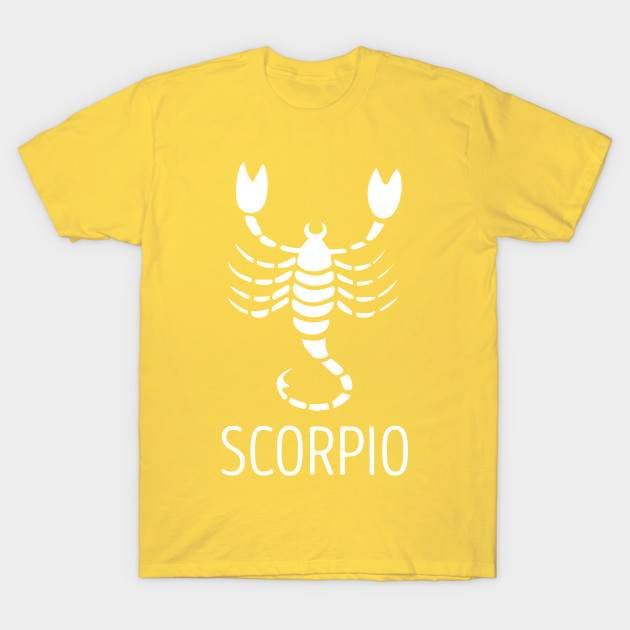 Antique Zodiac Sign SCORPIO Scorpion Astrology Constellation Graphic T-Shirt