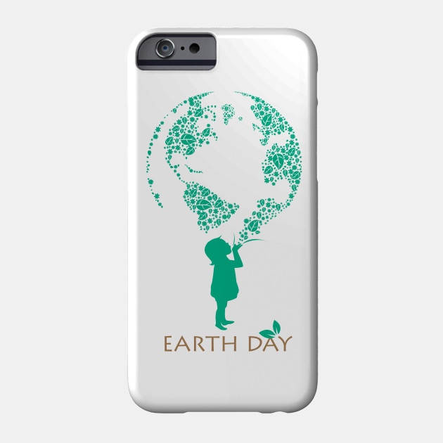 Earth Day Love Environment & Planet Phone Case