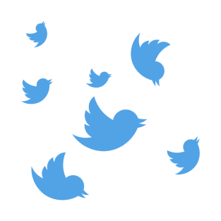 Flock Of Tweets t-shirts