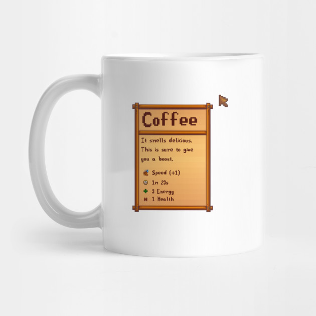 Stardew Valley Coffee By Sasarious