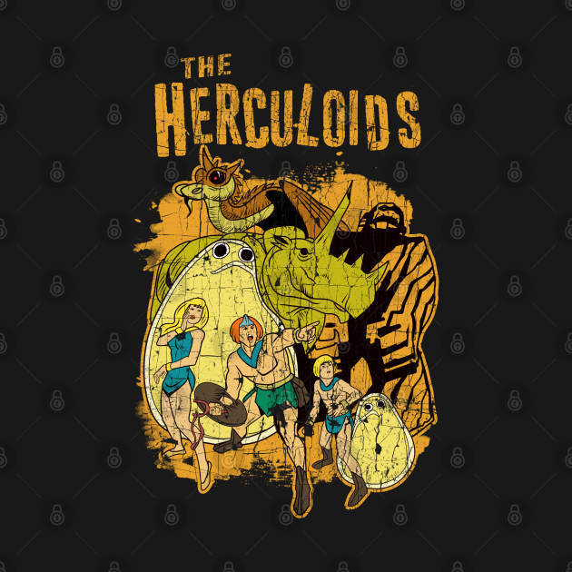 Distressed The Herculoids