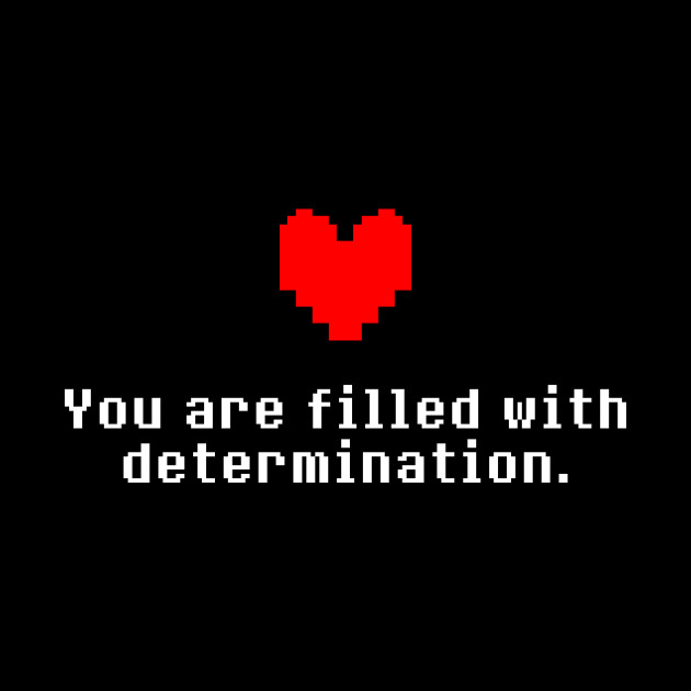 Скачать Undertale Determination Игру