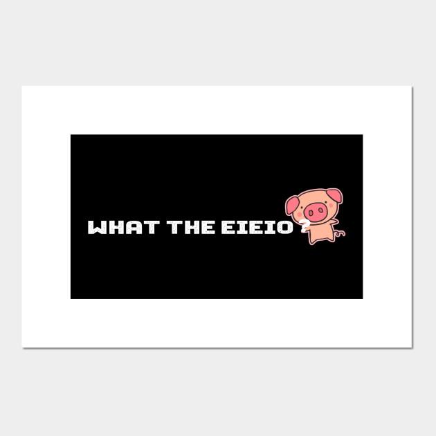 What The Eieio Old Macdonald Farm Pig