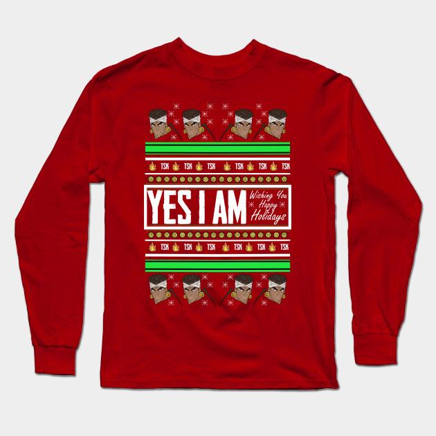 Jojo Christmas Sweater.Muhammad Avdol Holiday Sweater