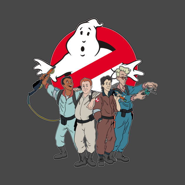 They ain't afraid of no ghost...