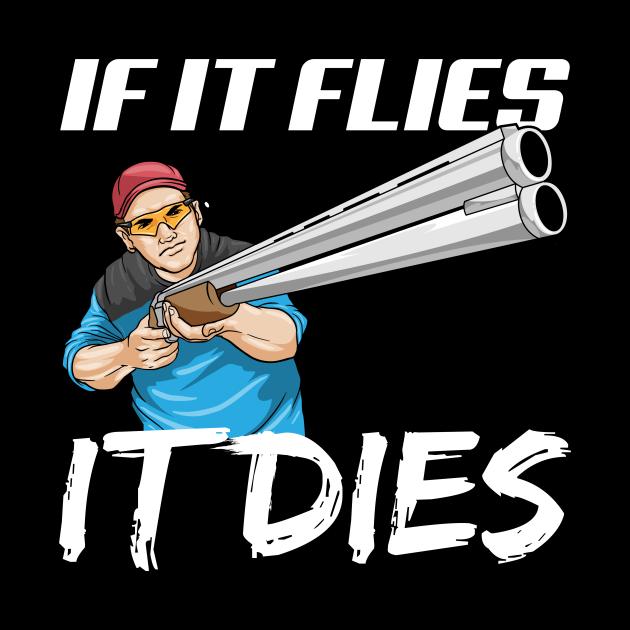 Skeet Shooting Pull Bang Shit Shotgun Hunter Gift