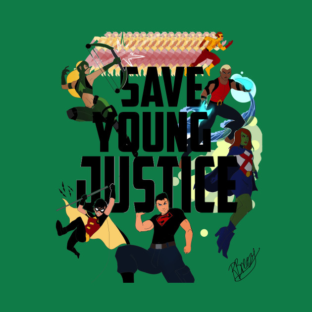 SAVE YOUNG JUSTICE by RHONA BREEZE