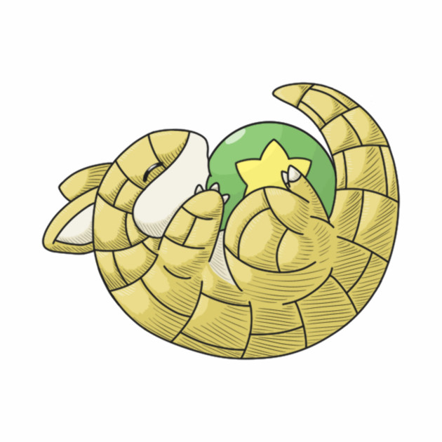 Roly Poly Sandshrew