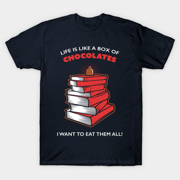 Life Is Like A Box Of Chocolates, I Want To Eat Them All!