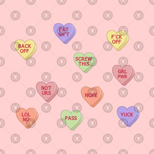 Feminist Stickers, feminism sticker, grl pwr, conversation hearts