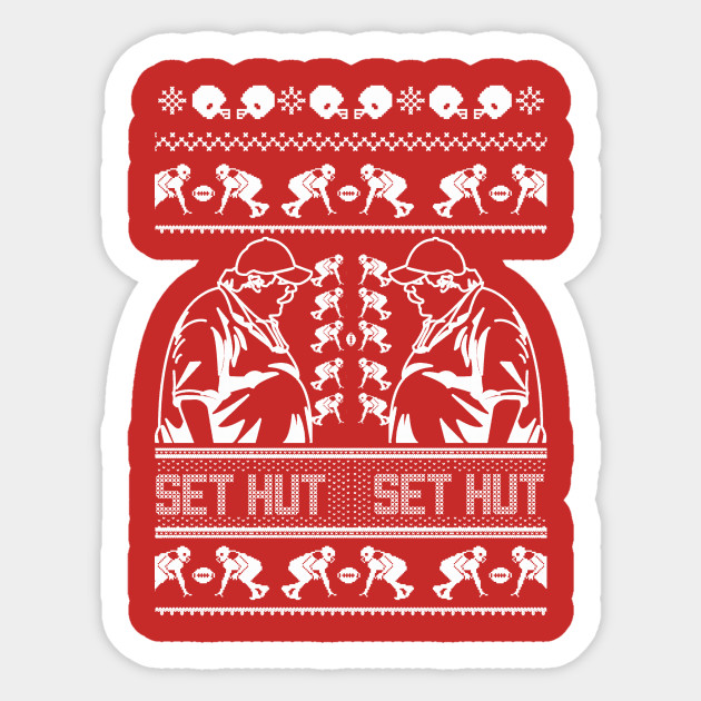 Cleveland Browns Christmas Sweater.Set Hut Ugly Christmas Sweater