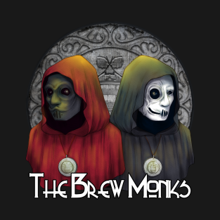 The Brew Monks Logo t-shirts