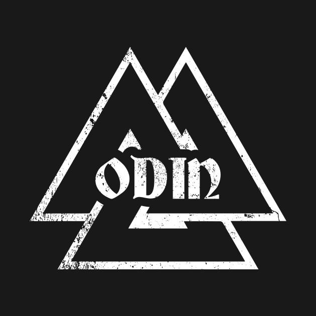 Odin Wodan Valknut Symbol Viking Norse Valhalla Edda Ragnar Shirt