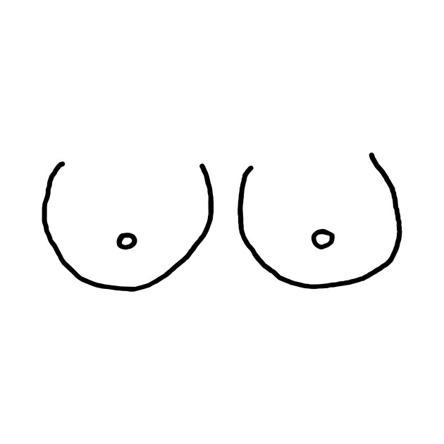 Image result for boobies drawing