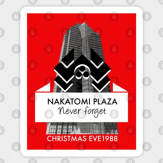 Nakatomi Plaza T Shirt Die Hard Bruce Willis John McClane Movies Hans Bubby Tee