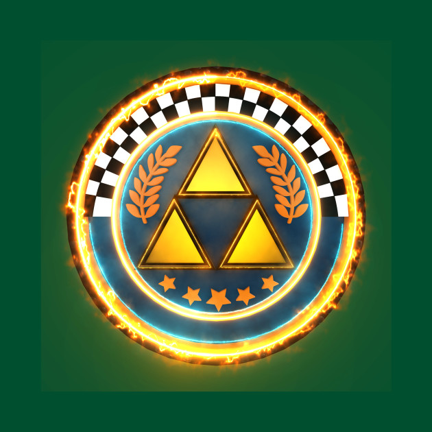 3D Triforce Cup Emblem