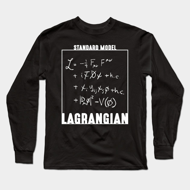 4a8817ae8 Standard Model Lagrangian shirt Standard Model science shirt TShirt