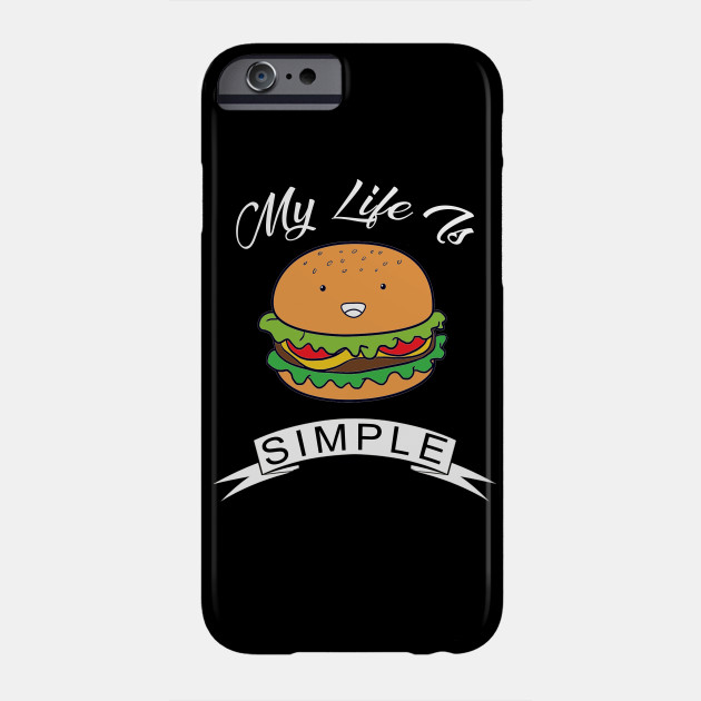 Burger Eat Me iphone case