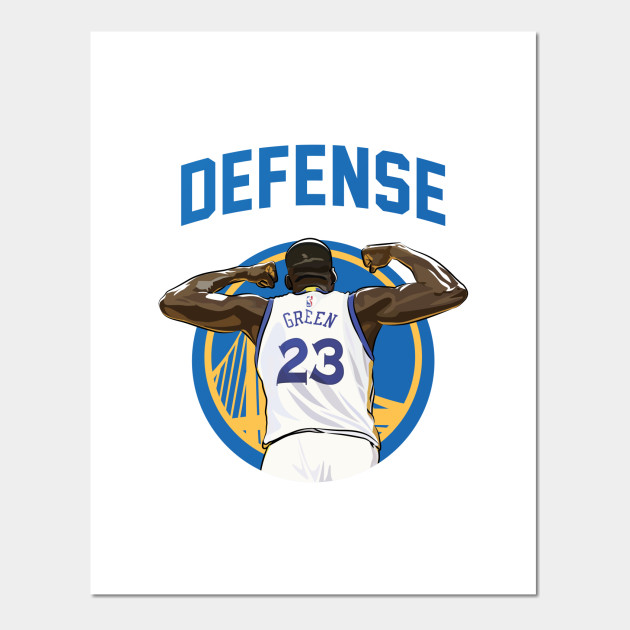 f0bed3136bd Green Defense Two - Draymond Green - Posters and Art Prints