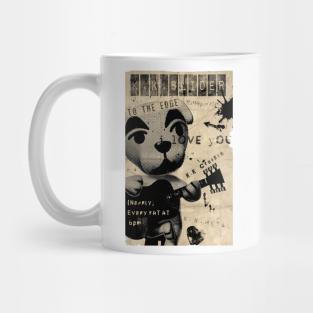 KK Slider As Guitarist Rock Band Punk Animal Crossing Coffee Mug Tea Cup