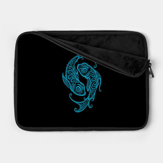 Blue Pisces Zodiac Sign
