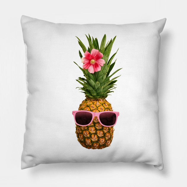 Pineapple Printed Funny TShirt Women s Summer Fruits Lover Pillow c8511cd8a