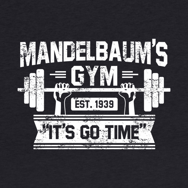 Mandelbaums Gym shirt