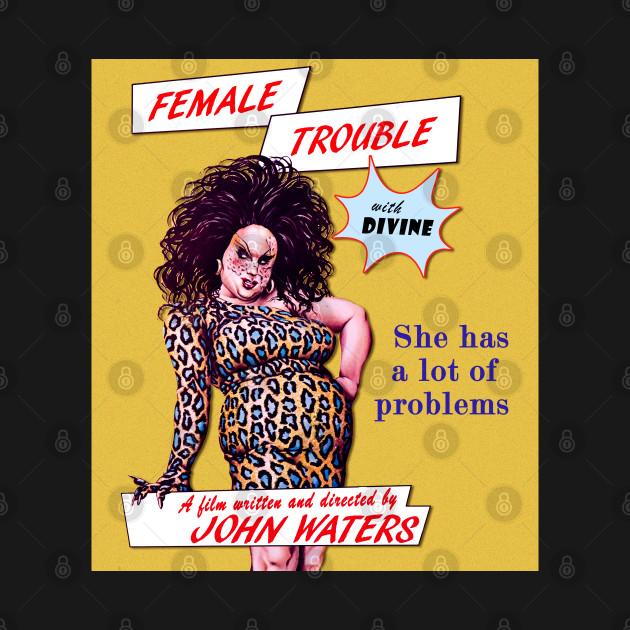 Female Trouble Divine - John Waters Bizarre Cult Movie