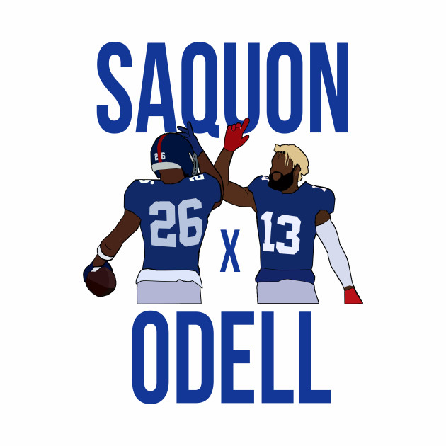Saquon Barkley and Odell Beckham Jr 'Saquon x Odell' - New York Giants
