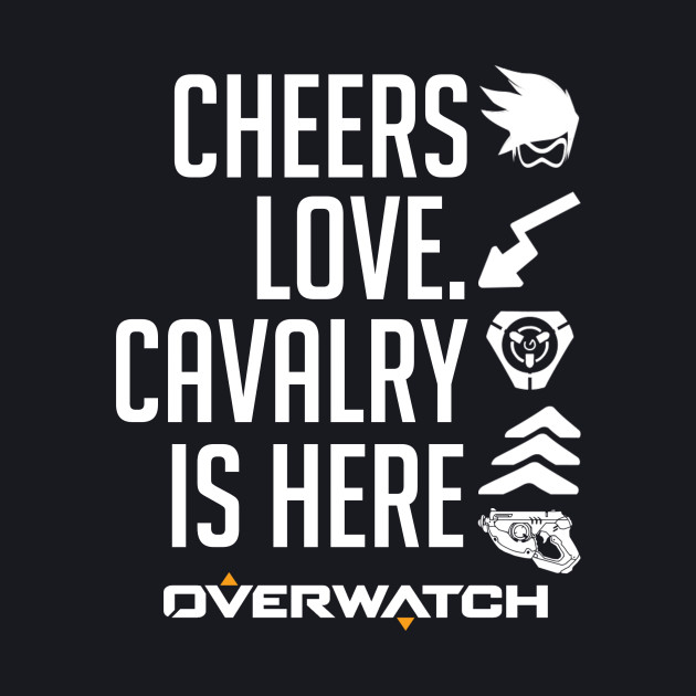 Cheers Love, The Cavalry Is Here!