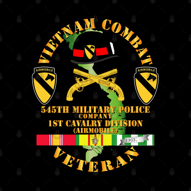 Vietnam Combat Cavalry Veteran w 545th Military Police Co - 1st Cav Div