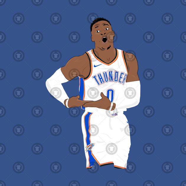 reputable site 3a3f7 6f522 Russell Westbrook Rock The Baby