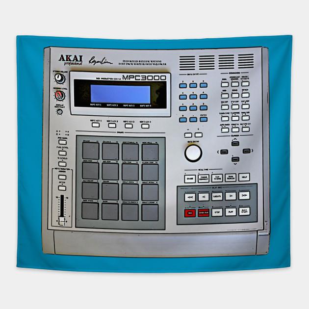 MPC 3000 Beat-Maker Tribute Design