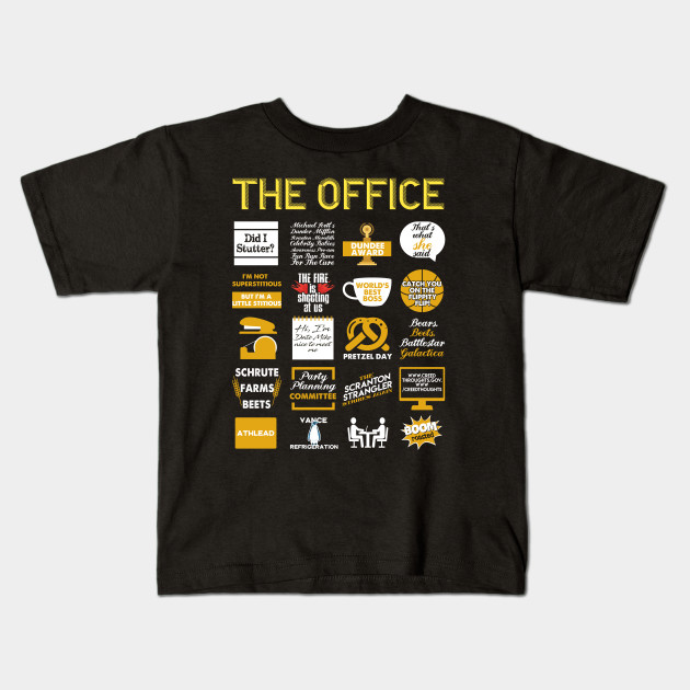 a3387a726 The Office Quote Mash-Up Funny T-Shirt - Official Tee Kids T-Shirt
