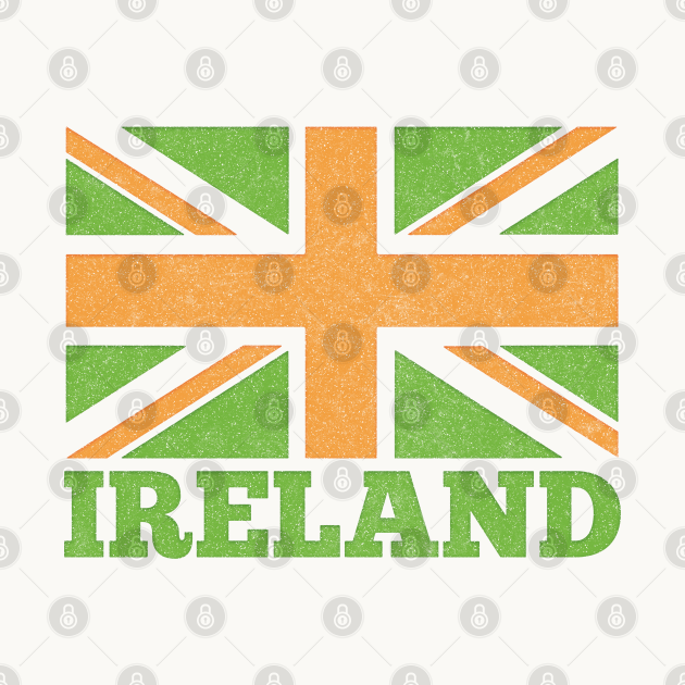 Ireland Flag / Spoof Occupation Parody Design