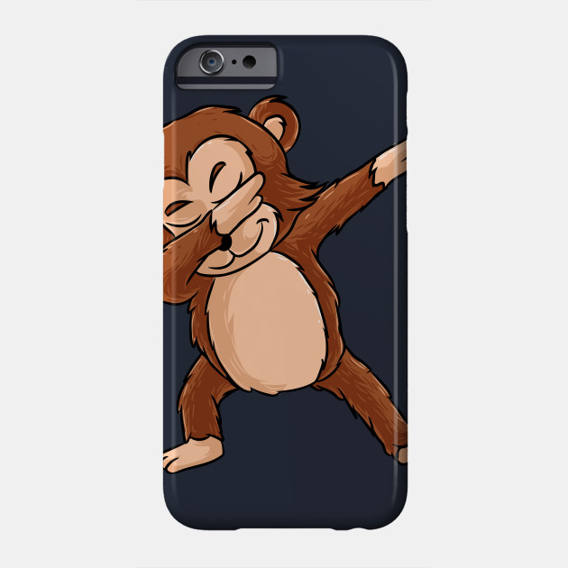 f1bd5558 Cute Dabbing Monkey Shirt Funny Monkey Dab Tshirt Gift Phone Case