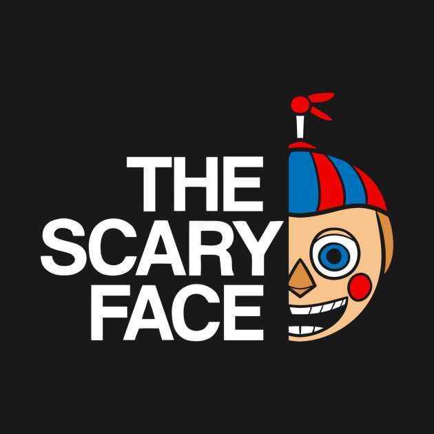 The Scary Face – B Boy T-Shirt