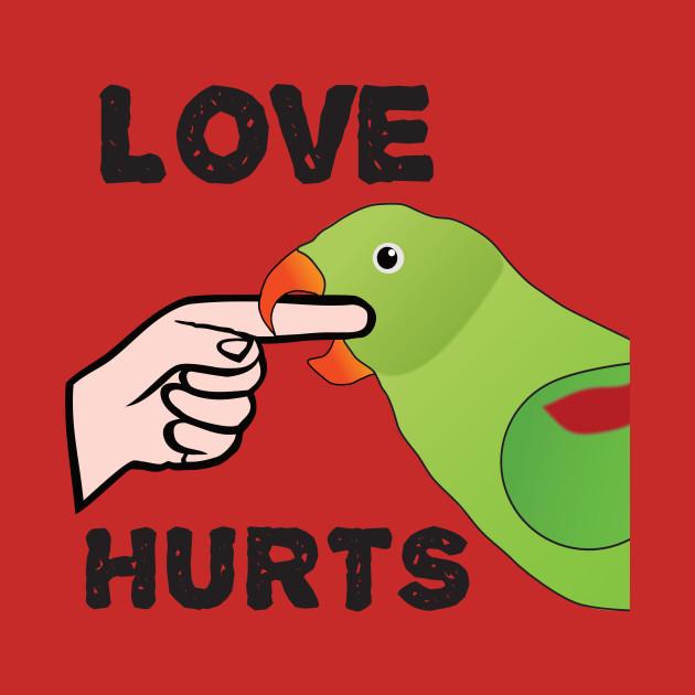 Love Hurts - Alexandrine Parakeet Female